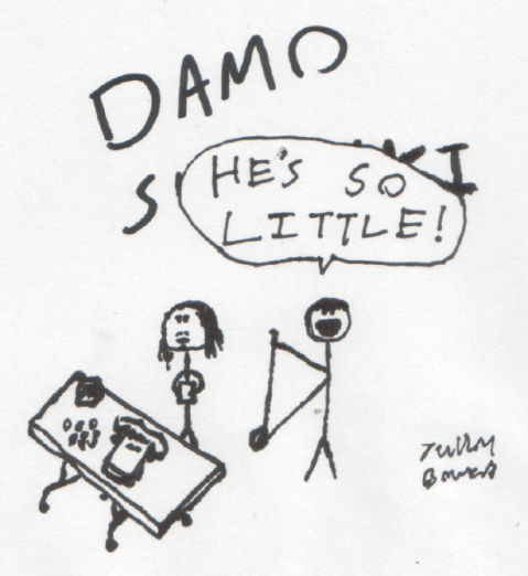 Damo drawing