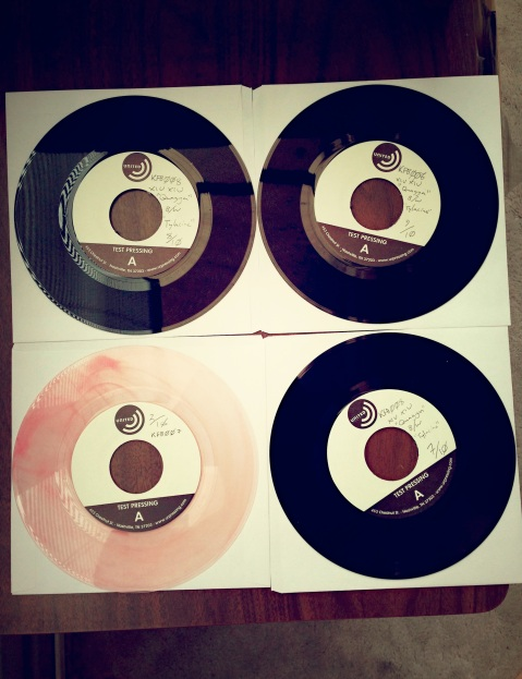 Test Pressings!