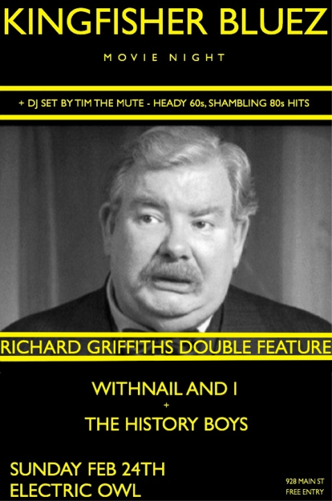 Movie Night With Richard Griffiths!!!!